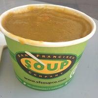 Photo taken at San Francisco Soup Company by Karine M. on 9/10/2013