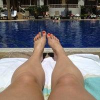 Photo taken at Kea Lani Adult Pool by Melissa D. on 4/9/2013