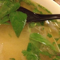 Photo taken at Pho Mignon by Melissa D. on 12/3/2012