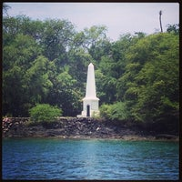 Photo taken at Captain Cook Monument by Shawn M. on 6/24/2013