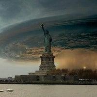Photo taken at Frankenstorm Apocalypse - Hurricane Sandy by FLOSSY C. on 10/29/2012