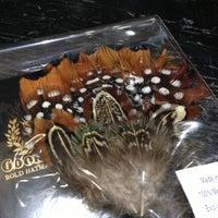 Photo taken at Goorin Bros. Hat Shop - Larimer Square by Megan B. on 11/10/2012
