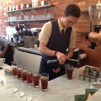 Photo taken at Boxcar Coffee Roasters by Megan B. on 7/6/2013