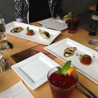 Photo taken at Leaf Vegetarian Restaurant by Megan B. on 7/12/2013