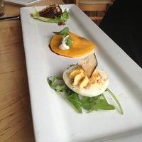 Photo taken at Leaf Vegetarian Restaurant by Megan B. on 3/1/2013