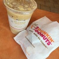 Photo taken at Dunkin Donuts by Yaya E. on 8/3/2016