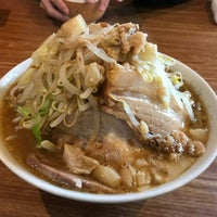 Photo taken at Ramen Jiro by よも on 11/14/2017