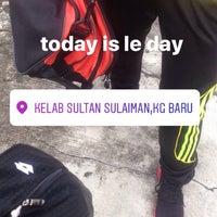 Photo taken at Kelab Sultan Sulaiman by Neesa A. on 5/13/2017