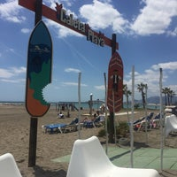 Photo taken at Caleta Playa by Mariana C. on 4/30/2017