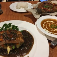 Photo taken at Salmon Cuisine by AingAung. on 2/14/2017