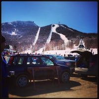 Photo taken at Jay Peak Resort by Kristen A. on 4/6/2013