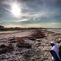 Photo taken at Coffin Beach by Kristen A. on 8/26/2013