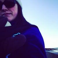 Photo taken at Coffin Beach by Kristen A. on 2/22/2014