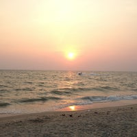 Photo taken at Bang Saen Beach by Rchn C. on 2/26/2013