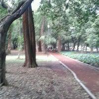 Photo taken at Parque Gandhi by Rodrigo L. on 9/29/2012