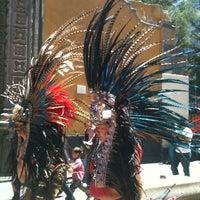 Photo taken at Plaza Madero by Hugo C. on 5/31/2013