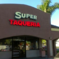 Photo taken at Super Taqueria by L.a. H. on 10/18/2012