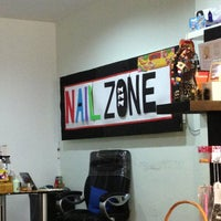 Photo taken at Nail Zone by YL on 2/21/2013