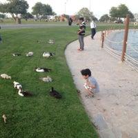 Photo taken at Aspire Park by Ibrahim on 4/11/2013