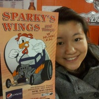 Photo taken at Sparky's Wings and Things by Gordon D. on 11/29/2012