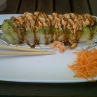Photo taken at Sushi Factory by Miguel C. on 10/20/2012