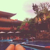 Photo taken at Poolside Wina Holiday Inn Kuta Bali by Valeriya S. on 6/28/2013