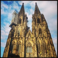 Photo taken at Cologne Cathedral by Dennis J. on 6/4/2013