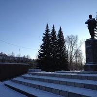 Photo taken at Площадь им. В.И. Ленина by Alex E. on 12/21/2013