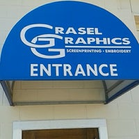 Photo taken at Grasel Graphics Inc. by Nancy on 4/16/2013