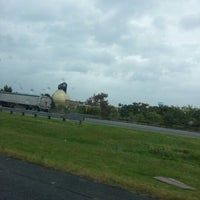 Photo taken at Back River Anaerobic Digesters (aka Golden Eggs) by Bob L. on 9/18/2012