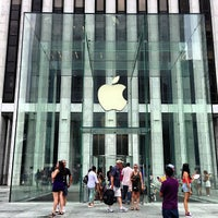 Photo taken at Apple Fifth Avenue by Ryan S. on 7/22/2013