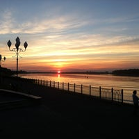 Снимок сделан в Волжская набережная пользователем Egor K. 7/13/2013