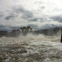 Снимок сделан в Плотина Иваньковской ГЭС пользователем Egor K. 4/28/2013