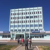 Снимок сделан в Международный аэропорт Брянск (BZK) пользователем Egor K. 6/11/2018