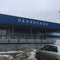 Photo taken at Obninsk by Egor K. on 4/1/2018