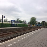 Photo taken at Station De Westereen by Ludwig K. on 5/18/2013