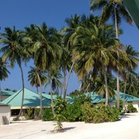 Photo taken at Vilamendhoo Island Resort & Spa by Toni M N. on 2/27/2013