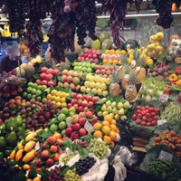 Photo taken at Mercat de Sant Josep - La Boqueria by Sayeed on 5/3/2013