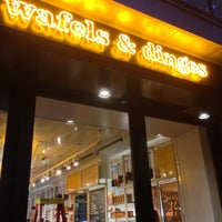 Photo taken at Wafels & Dinges Cafe by Harry T. on 7/16/2013