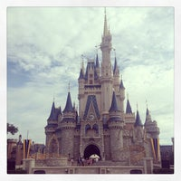 Photo taken at Cinderella Castle by Gary S. on 7/18/2013
