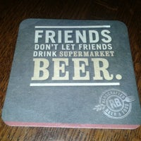 Photo taken at Rock Bottom Restaurant & Brewery by Rodrigo S. on 7/14/2013