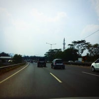 Photo taken at Jalan Tol Lingkar Luar Jakarta Seksi W2 Selatan (JORR W2 S) by S. Razie Ali M. on 7/31/2015
