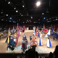 Photo taken at Medieval Times by Jenny Y. on 6/1/2013