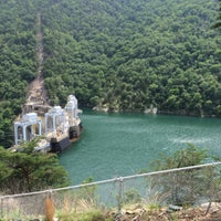 Photo taken at Smith Mountain Lake Dam by Vickie W. on 6/28/2014