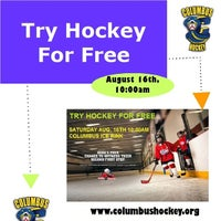 Photo taken at Columbus Ice Rink by The Skate S. on 8/14/2014