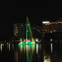 Photo taken at Relax Grill At Lake Eola by Steven Y. on 12/8/2012