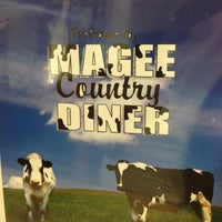 Photo taken at Magee Country Diner by Thomas D. on 5/4/2013