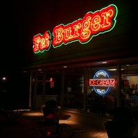 Photo taken at Fatburger by Patrick E. on 1/17/2014