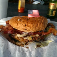 Photo taken at Bubba's Texas Burger Shack by Patrick E. on 7/9/2013