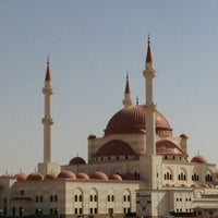 Photo taken at Mosque Alrajhi by Sami M. on 2/15/2013